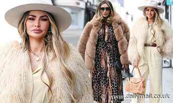 TOWIE originals Chloe Sims and Amy Childs opt for Seventies-inspired glamour