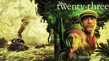 Disney Twenty-Three Cover to Feature Dwayne Johnson and Emily Blunt Ahead of Jungle Cruise Adventure - DAPS MAGIC