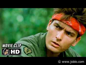"PLATOON Clip - ""Hard & Dry"" (1986) Charlie Sheen - JoBlo.com"