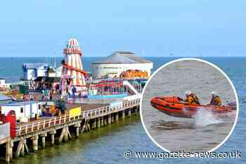 Lifeboat crews help save teenager found 'lifeless' in sea off Clacton Pier