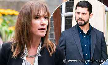 EastEnders: Rainie Cross helps pressure Apostolos into giving Karen Taylor's job back