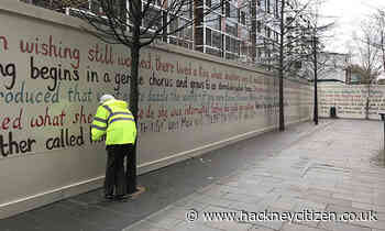 Pick your favourite opening line from a book for public artwork in Dalston