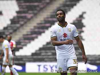 Jerome unlikely to remain at MK Dons next season - Milton Keynes Citizen