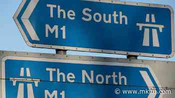 Lanes re-open on M1 in Milton Keynes following collision - MKFM