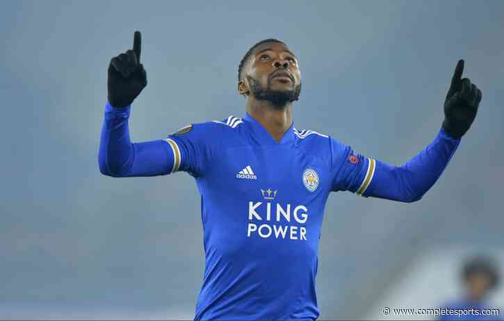 Iheanacho Set To Retain EPL POTM Award After Being Nominated For April