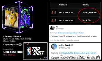 NBA Top Shot could be rife with fraud, an expert warns, as collectors struggle to make withdrawals