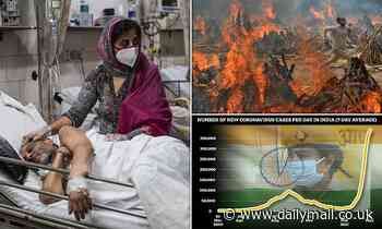 India Covid: Second wave 'will devastate the world if not brought under control'