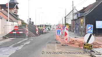 Pecq: du retard pour le chantier de réfection de la RN50 - Sudinfo.be