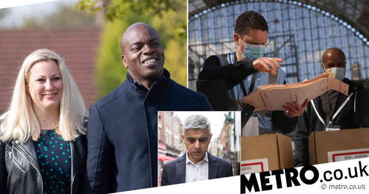 Tory candidate Shaun Bailey takes early lead in London mayoral election