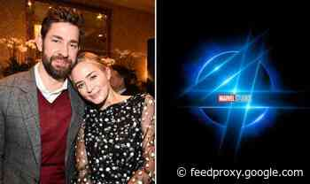 Fantastic Four: Emily Blunt and John Krasinski 'in talks for MCU Susan and Reed Richards'
