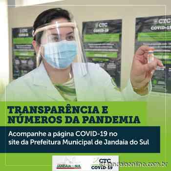 TRANSPARÊNCIA E NÚMEROS DA COVID-19 EM JANDAIA DO SUL - Jandaia Online