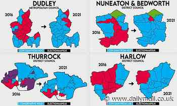 Local elections 2021: Labour suffers crushing defeats in early results from local council wards