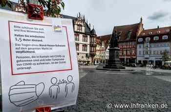 Corona-Lage in Franken: Zwei Regionen unter Deutschlands Top-5-Hotspots