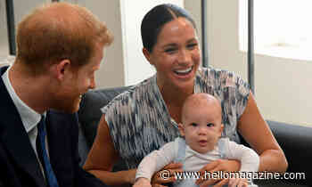 Archie Harrison is Meghan Markle's mini-me in second birthday portrait with Nike trainers
