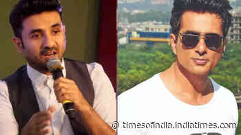 Vir Das responds to a fan's tweet endorsing him as the next PM of India, actor suggests Sonu Sood's name