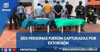 Desarticularon organización que extorsionaba en Samaná y Marquetalia - BC Noticias