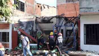 Explosión en bodega de gas deja ocho heridos en Caucasia - Telemedellín