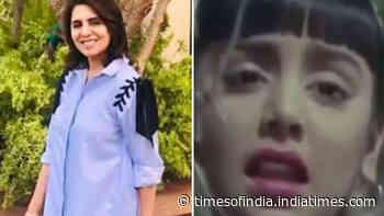 Neetu Kapoor mocks her makeup skills in throwback video from 'Do Kaliyaan'