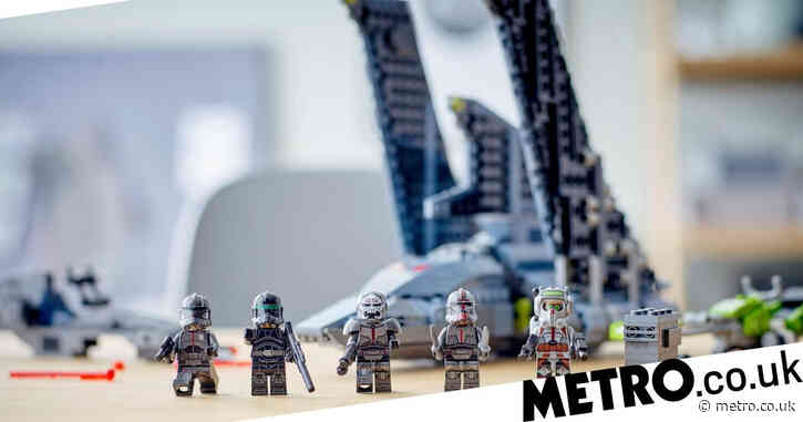 Lego Star Wars: The Bad Batch shuttle has all the main characters from the show