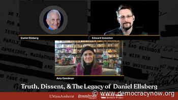 Whistleblowers Daniel Ellsberg & Edward Snowden in Conversation with Amy Goodman - Democracy Now!