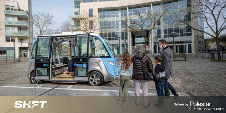 You decide whether autonomous shuttles will happen or not