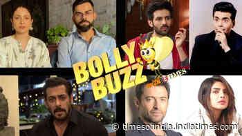 Bolly Buzz: Anushka Sharma and Virat Kohli's COVID-19 relief campaign; Salman Khan helps 25000 workers