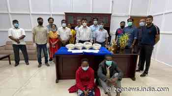 15.6 kg Heroin worth Rs 100cr seized from two Tanzanian nationals at Chennai airport