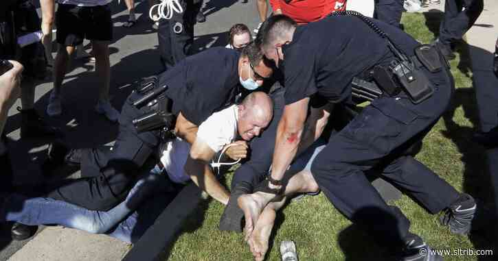 Family of man shot by police sues Cottonwood Heights, alleging they were brutalized at protest