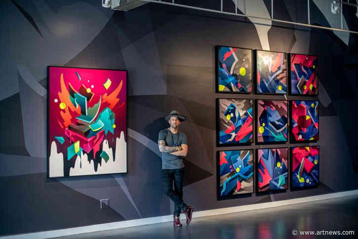 Mikael B's Latest Exhibition in Los Angeles Presents Genre-BendingWorks