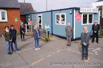 Community champs keep Herefordshire village shop going