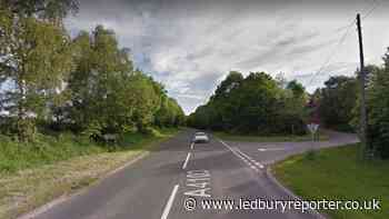 Main Herefordshire route was closed after crash