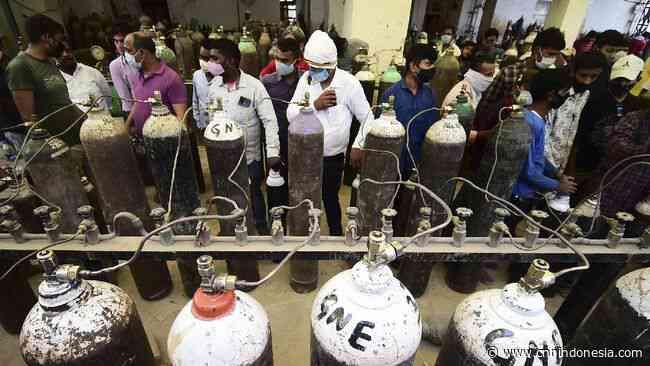 India Tambah Suplai Oksigen buat Covid New Delhi Jadi 740 Ton - CNN Indonesia