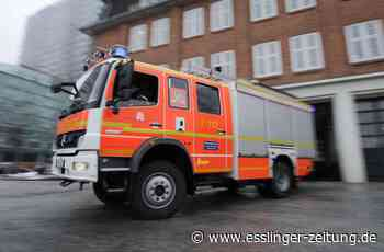 Brand in Denkendorf: Restmüllcontainer fängt Feuer - esslinger-zeitung.de