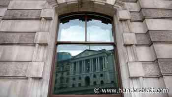 Notenbank: Bankvon England rechnet nicht mit großer Covid-Pleitewelle