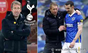 Brighton boss Graham Potter plays down 'speculation' over Tottenham job