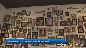 Italian eatery 'Ritorno' honours mothers with 'Nonna Wall' this Mother's Day
