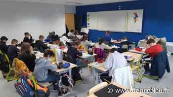 VIDÉO - 3 ans après d'énormes inondations, l'école Albert Jacquard du Genest-Saint-Isle renaît des ses cendres - France Bleu