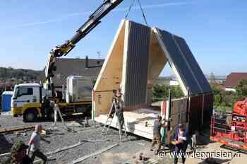 Haut-Rhin : la première maison pliable de France installée à Blotzheim ! - Le Parisien