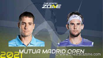 2021 Madrid Open Quarter-Final – Dominic Thiem vs John Isner Preview & Prediction - The Stats Zone