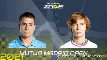 2021 Madrid Open Round of 16 – John Isner vs Andrey Rublev Preview & Prediction - The Stats Zone