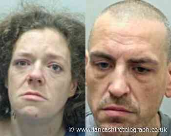 Killer couple locked up for knife attack on Accrington man Mark Fisher