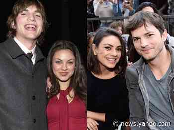 It took Ashton Kutcher and Mila Kunis 14 years to start dating. Here's a timeline of their sweet relationship. - Yahoo News