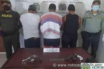 Detenciones por porte ilegal de armas en Tocaima, Cundinamarca - Noticias Día a Día