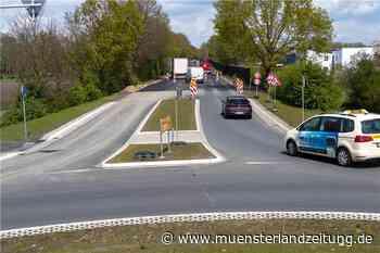 B70-Teilstück wird in Alstätte am Wochenende für Bauarbeiten gesperrt - Münsterland Zeitung