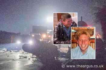 A27 crash deaths: Dean Bridger and Darren Grant family tributes