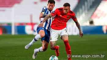 Português: Everton 'Cebolinha' faz belo gol, mas Benfica cede empate ao Porto; Sporting fica ainda mais perto do título - ESPN.com.br