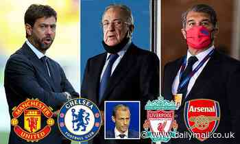 Real Madrid, Barcelona and Juventus 'threaten clubs withdrawing from Super League with legal action'
