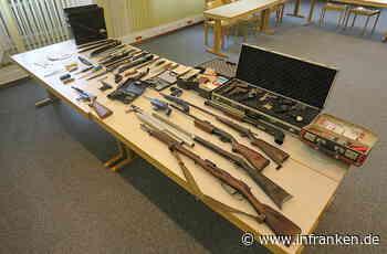 Landkreis Coburg: Polizisten wollen Schusswaffe sicherstellen - und entdecken illegales Waffenarsenal