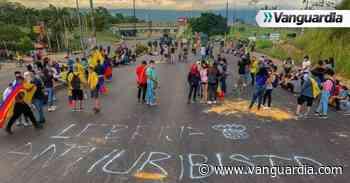 Reportan bloqueo vial entre Bucaramanga y Lebrija - Vanguardia