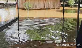 Inundaciones en Rionegro por desbordamiento del río Lebrija - Caracol Radio